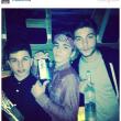 Madonna pubblica foto del figlio con bottiglia di alcol01