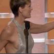 """Robin Wright, """"fuori di seno"""" ai Golden Globe01"""