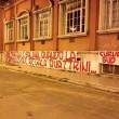 """Curva Sud Roma: """"Bossi, Maroni, Salvini. Quando discriminazione regala quattrini"""""""