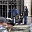 Forconi lasciano basilica di S.Maria Maggiore dopo due notti08