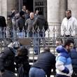 Forconi lasciano basilica di S.Maria Maggiore dopo due notti06