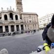 Forconi lasciano basilica di S.Maria Maggiore dopo due notti04