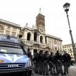 Forconi lasciano basilica di S.Maria Maggiore dopo due notti02
