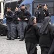 Forconi lasciano basilica di S.Maria Maggiore dopo due notti01