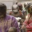 Giava, 200mila persone in fuga dal vulcano Kelud10