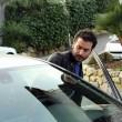 Laetitia Casta lascia Sanremo con il suo nuovo fidanzato Lorenzo Distante04