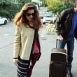 Laetitia Casta lascia Sanremo con il suo nuovo fidanzato Lorenzo Distante06