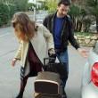 Laetitia Casta lascia Sanremo con il suo nuovo fidanzato Lorenzo Distante07