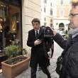 Matteo Renzi a Montecitorio senza scorta08