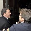 Matteo Renzi a Montecitorio senza scorta06