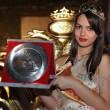 Miss Albania 2013 Florenca Lekstakaj diventa cittadina italiana01