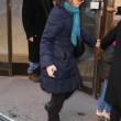 Philip Seymour Hoffman, veglia moglie Mimi O'Donnell e figli non ci sono06