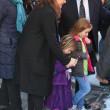 Philip Seymour Hoffman, veglia moglie Mimi O'Donnell e figli non ci sono07