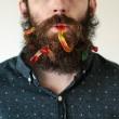 Pierce Thiot, l'uomo che si infila di tutto nella barba 05