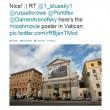 Russell Crowe, via Twitter, supplica Papa Francescp di guardare Noah 01