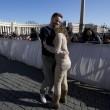 San Valentino Papa Francesco incontra coppie di fidanzati02