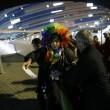 Sochi, Vladimir Luxuria fermata a ingresso stadio con Iene Pio e Amedeo01