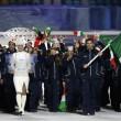 Sochi: sfila l'Italia, tanti tricolori e Letta saluta02