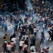 Venezuela, scontri polizia studenti01