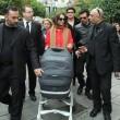 Violante Placido a Sanremo con famiglia02