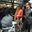 Violante Placido a Sanremo con famiglia06