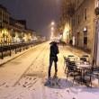 Violenta grandinata a milano le strade sembrano ricoperte di neve04