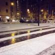 Violenta grandinata a milano le strade sembrano ricoperte di neve02