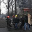 Ucraina: nuovi scontri polizia manifestati, tregua finita08