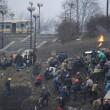 Ucraina: nuovi scontri polizia manifestati, tregua finita06