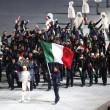 Sochi: sfila l'Italia, tanti tricolori e Letta saluta03