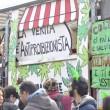 A Roma sflia la Marijuana March. Marco Pannella contestato (foto)4