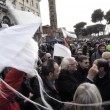 A Roma sflia la Marijuana March. Marco Pannella contestato (foto)2