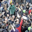 A Roma sflia la Marijuana March. Marco Pannella contestato (foto)
