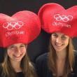 San Valentino a Sochi il cuore rosso con i 5 cerchi olimpici