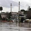 Roma, allarme Tevere rientrato, ma fiume ancora sotto osservazione (foto) 5