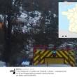 Il treno deragliato sulle Alpi in Francia
