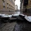 Roma, via del Corso allagata: tubatura esplosa, non pioggia (foto) 4