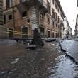 Roma, via del Corso allagata: tubatura esplosa, non pioggia (foto)