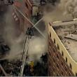 Esplosione a New York. Crolla edificio ad Harlem02