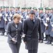 """Angela Merkel a Renzi: """"Molto colpita dal programma, c'è cambiamento strutturale"""""""
