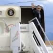 Ignazio Marino come Alberto Sordi: insegue Obama fino a Fiumicino - FOTO