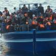 Canale di Sicilia, 13 barconi in mare: salvati 1200 migranti