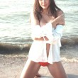 Alexandra Sereda, modella russa sfigurata dall'ex fidanzato milionario (foto)