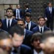 Gerard Pique, Cesc Fabregas, Lionel Messi, Jordi Alba