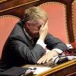 Senatore D'Ascola (Ncd) si addormenta in Senato durante discussione Def05