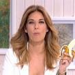 Dani Alves, la conduttrice spagnola Marilò Montero mangia banana in tv