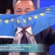 Buonanno strappa la bandiera, ospite da Mattino 5