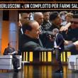 """Berlusconi """"cacciato"""" da Quinta Colonna. Rischiava di violare il rientro a casa (VIDEO) - 7"""