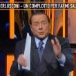 """Berlusconi """"cacciato"""" da Quinta Colonna. Rischiava di violare il rientro a casa (VIDEO) - 6"""