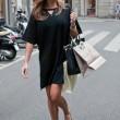 Alena Seredova, shopping a Milano011